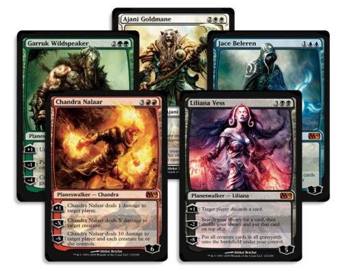 Planeswalkers in M10